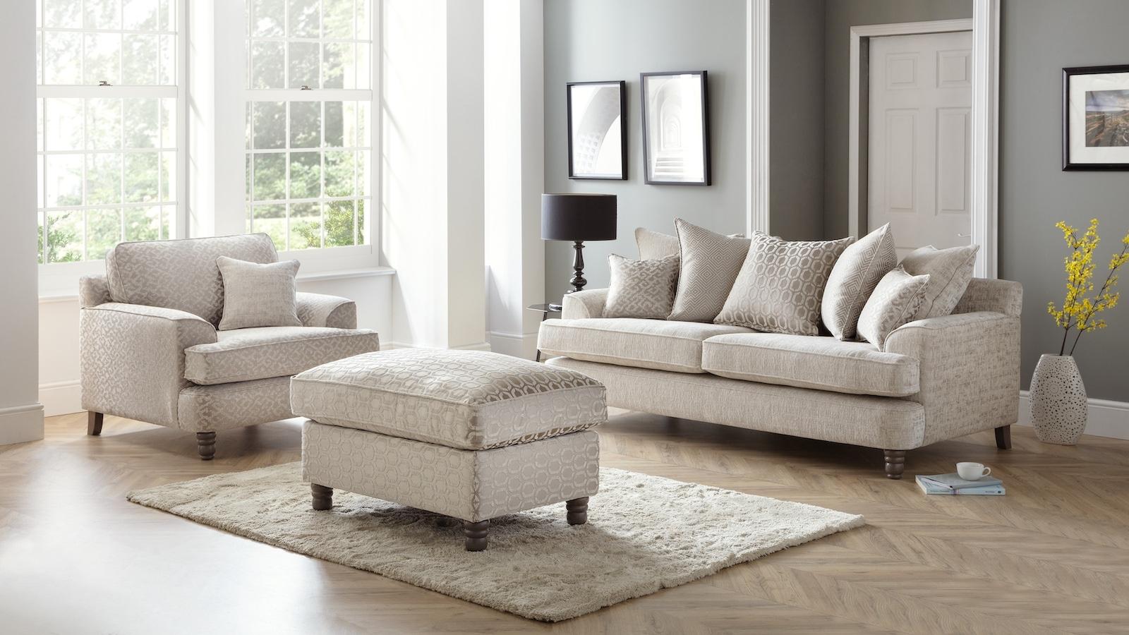 Murano Sofa and Chair set