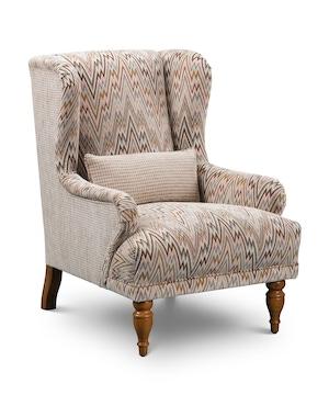 Nostalgia Wing Chair 01 C